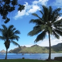 The Anchorage at Nuku Hiva